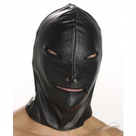 ストリクトレザー ジッパーマスク