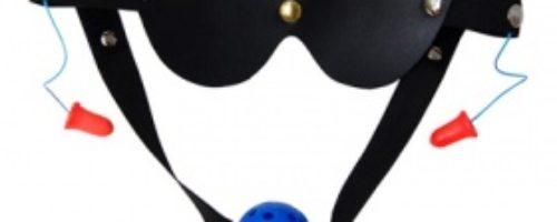 簡単拘束 タイプ1「目と口と耳」 (青)
