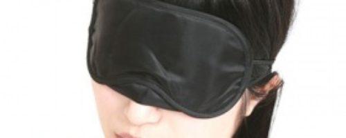 多目的アイマスク (ブラック)