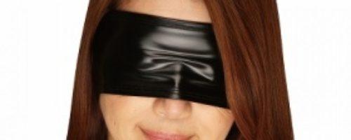 エナメル2wayストレッチアイマスク