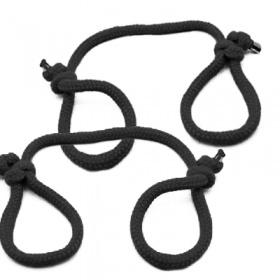 縄手錠(2本入) (ブラック)