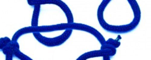 縄手錠(2本入) (ブルー)