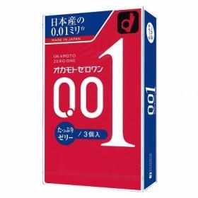 オカモトゼロワン0.01 (たっぷりゼリー)