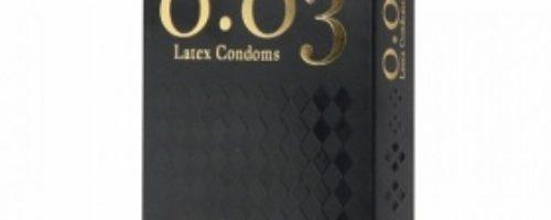 0.03ラテックス製コンドーム