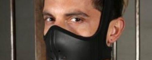 ネオプレン傭兵マスク (ブラック)