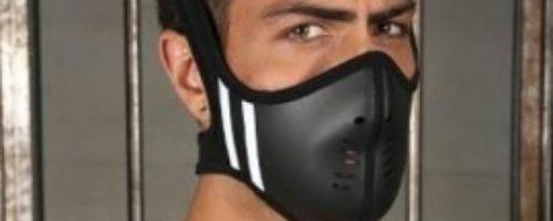 ネオプレン傭兵マスク (ホワイト)